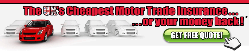 Motor Trade Insurance Quote
